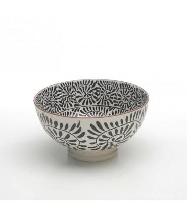 Set 6 bowl Magma d.140 nero opaco
