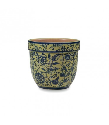 Set 6 tazze mug Tue fiori grigio