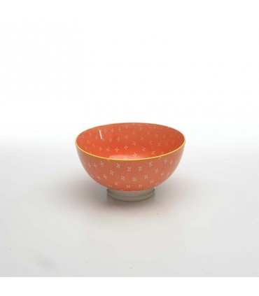 Set  6 Tue porcelain micro bowl octane