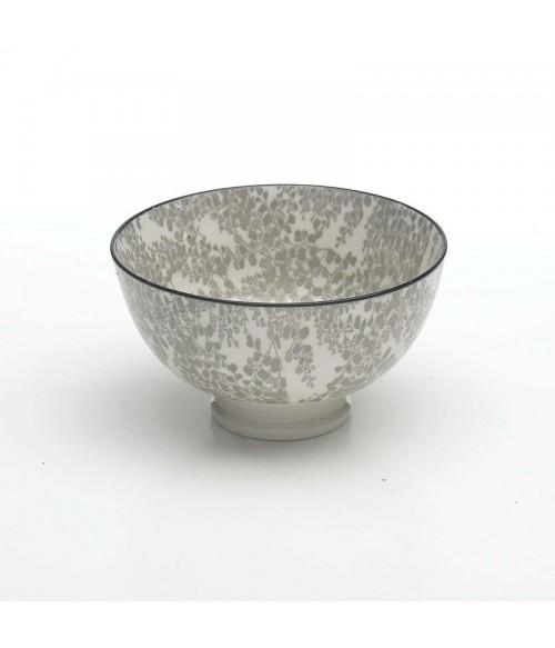 Set  6 Juta round plates dove grey d.200