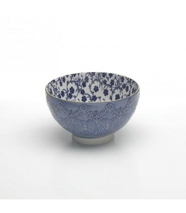 Tue  big text bowl blue