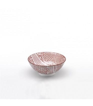 Set 2 pcs amethist Perle Porcellain PLates
