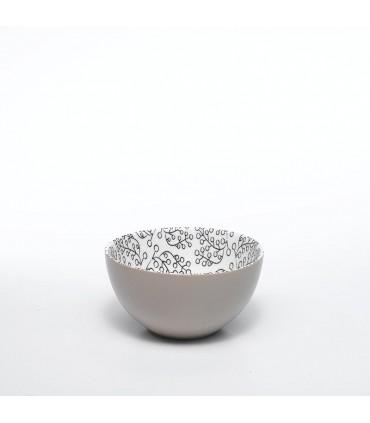 tumbler bicchiere in vetro Provenzale rock porpora set 6 pz