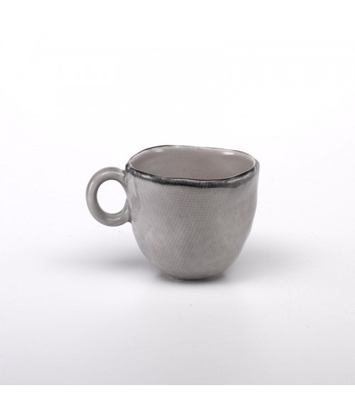 Juta stoneware mug - dove grey set 6 pieces