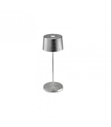 Lampada da Tavolo Olivia mini argento