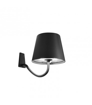 Poldina wall lamp - dark grey